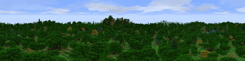 Panorama Rohan Woodlands