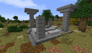 Small Stone Ruins - Shrine in Lone-Lands PB28