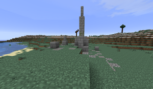 Small Stone Ruins - Obelisk PB28
