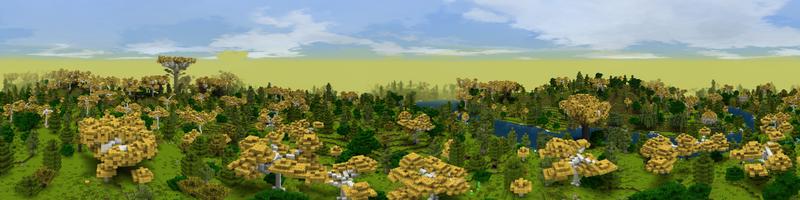 Panorama Eaves of Lothlórien
