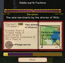 GandalfQuestFactionsMenu1