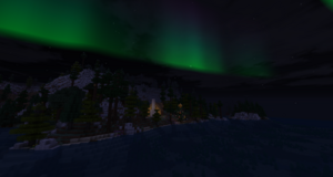 Aurora Middle Earth Over Glf's House 2