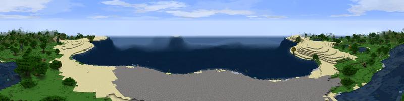 Panorama Gravel Beach