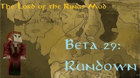 Minecraft The Lord of The Rings Mod- Beta 29 Rundown