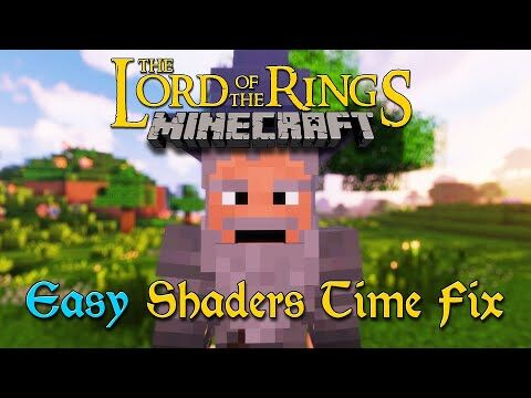 Minecraft_LOTR_Tutorial_-_The_Easy_Shaders_Time_Fix