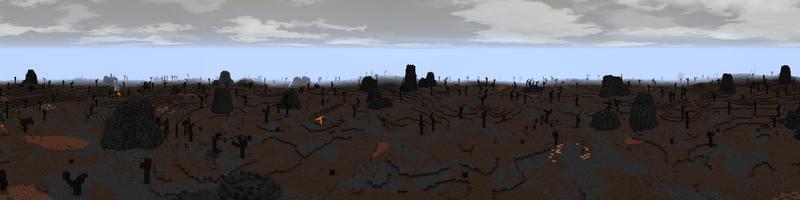 Panorama Eastern Desolation