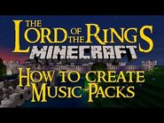 Minecraft Lord of the Rings Mod - How to Make Music Packs
