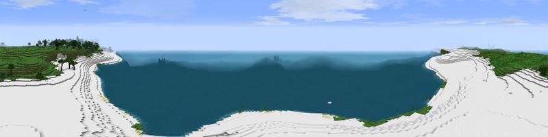 Panorama White Beach