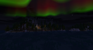 Aurora Middle Earth Over Glf's House