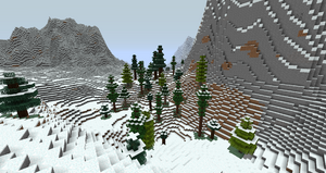 A forested valley in the Misty Mountains. Probably my favourite picture on the wiki
