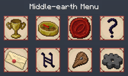 The Middle-earth menu, type 'L'