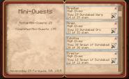 4 of 5 High Elven Kill Quests