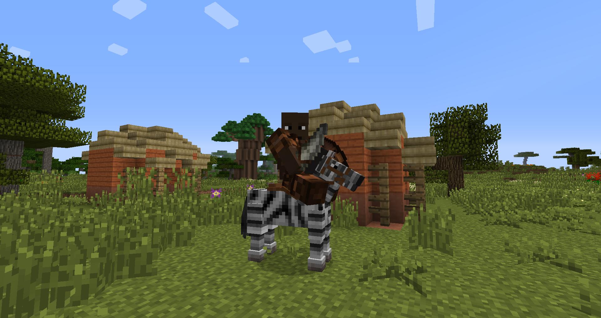 Morwaith Zebra Rider