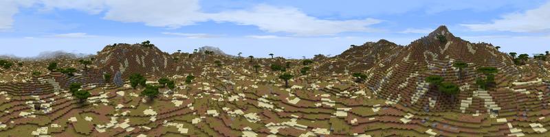 Panorama Far Harad Arid Hills