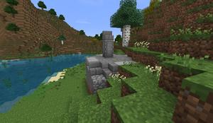 Small Stone Ruins - Plinth simple PB28