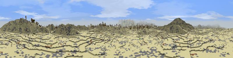 Panorama Desert Hills