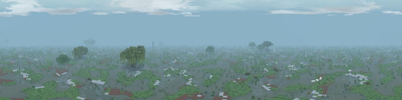 Panorama Long Marshes