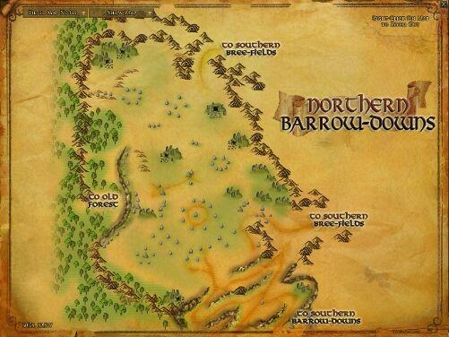 Northern Barrow-downs MAP