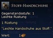 Stoff-Handschuhe