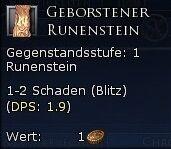 Geborstener Runenstein