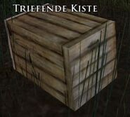 Triefende Kiste