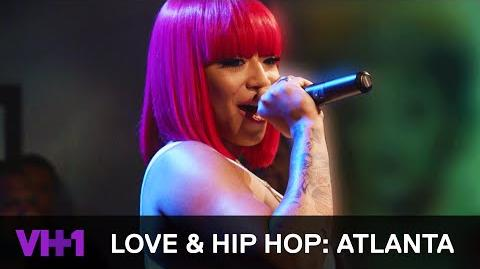 Love & Hip Hop Atlanta Jessica Dime is ATL's Next Female Rapper VH1