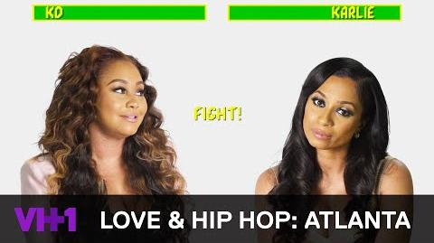 Love & Hip Hop Atlanta Khadiyah Lewis & Karlie Redd Can't Stand Each Other VH1