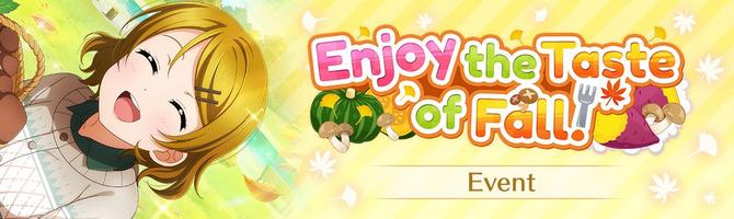 Enjoy the Taste of Fall! (Event - EN).png