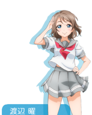 You Watanabe Love Live Wiki Fandom You watanabe walks home without chika and thinks about their future, until she stumbles upon a mysteriously familiar girl. you watanabe love live wiki fandom