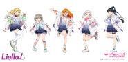 Liella 1st Single Outfits