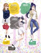 Dengeki G's Mag Mar 2017 HAPPY PARTY TRAIN Bonus Art 1