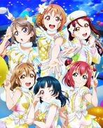 Love Live Sunshine Movie BD Front Cover
