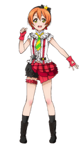 Hoshizora Rin Character Profile (Pose 4)