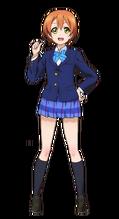Hoshizora Rin Character Profile (Pose 1)
