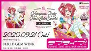 LoveLive! Sunshine!! Kurosawa Ruby First Solo Concert Album ~RED GEM WINK~ Preview