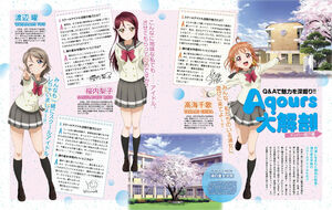 Dengeki G's Magazine June 2016 Q&A Chika Riko You.jpg