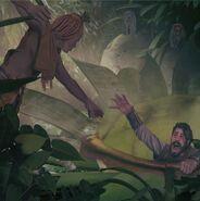 Giant Pitcher Plant, Conan (Modiphius)