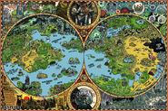 Dreamlands color worldmap - Mockman
