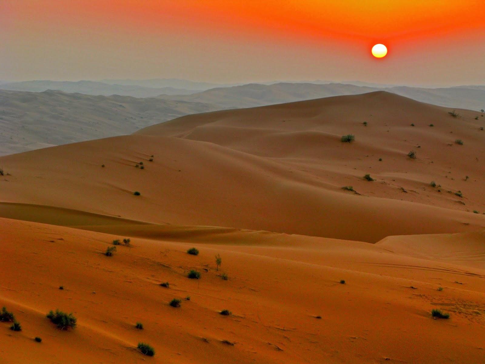 El rostro en el desierto