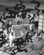 The dreaded Aku-Shin Kage manifests (Secretos de Japón)
