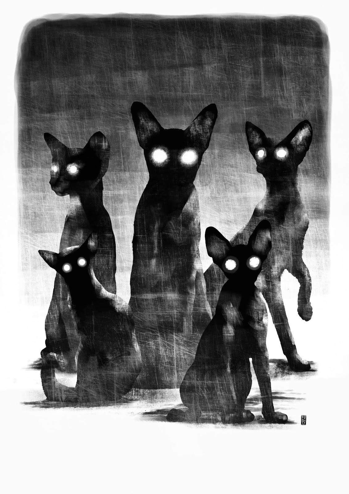 Gatos de Ulthar