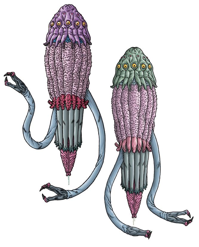 Zhar and Lloigor
