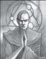 Nyarlathotep, Grey Lama of Tibet (Secrets of Tibet)