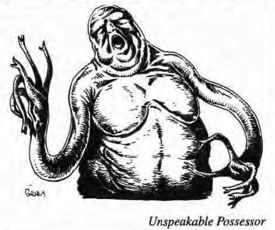 Unspeakable Possessor