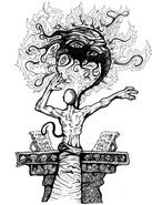Cthugha invocado (Secretos de Marrruecos)