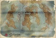 Map of Golarion (Paizo Inc)