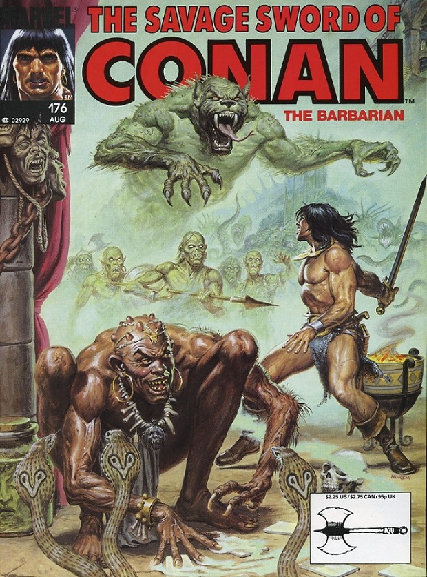 The Three Deaths of Conan