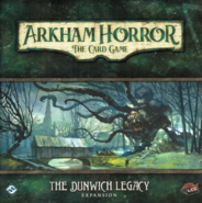 Arkham Horror LCG The Dunwich Legacy Expansion Cover