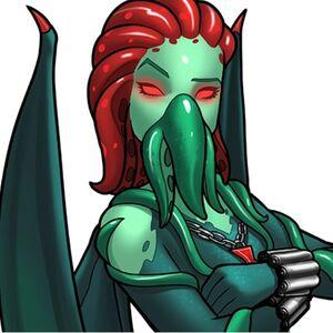 Cthulhu-possessed Black Widow (TinyCo).jpg