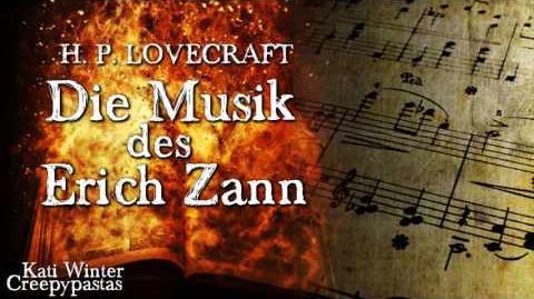 Die Musik des Erich Zann - H. P